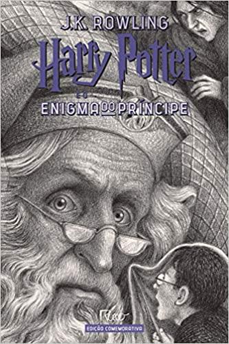 Harry Potter e o Enigma do Principe (capa Dura) - Edicao Comemorativa dos 20 ANOS da Colecao HARRY Potter -