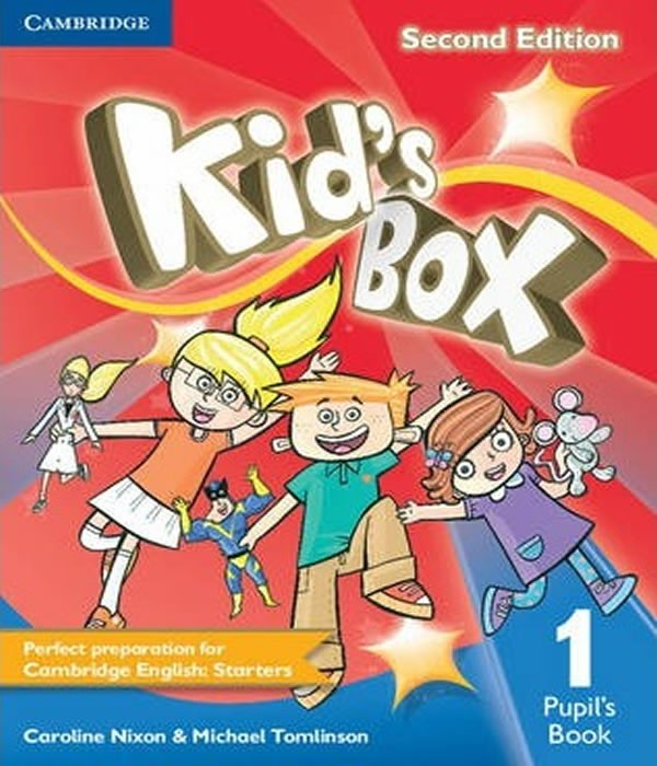 Kids BOX 1 - Pupils Book - 02 ED