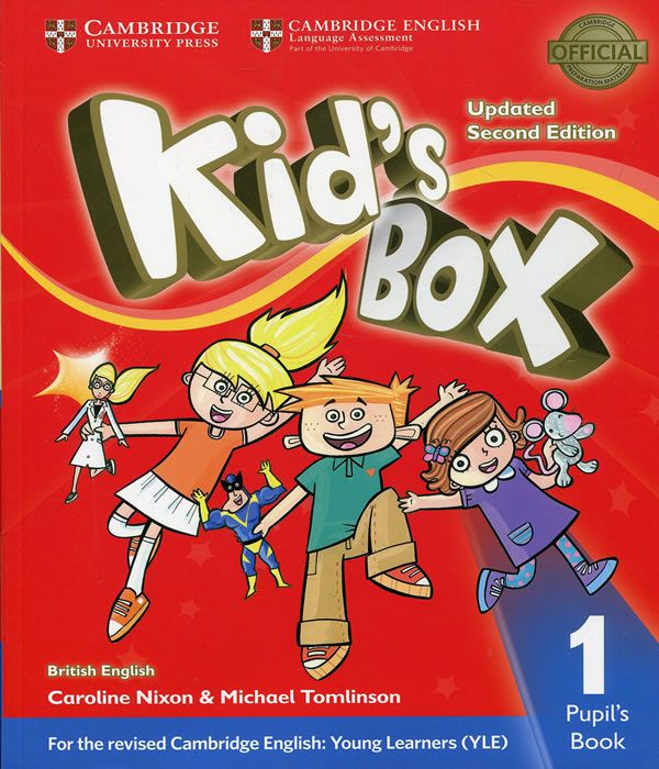 Kids Box 1 - Pupils Book Updated - 02 Ed