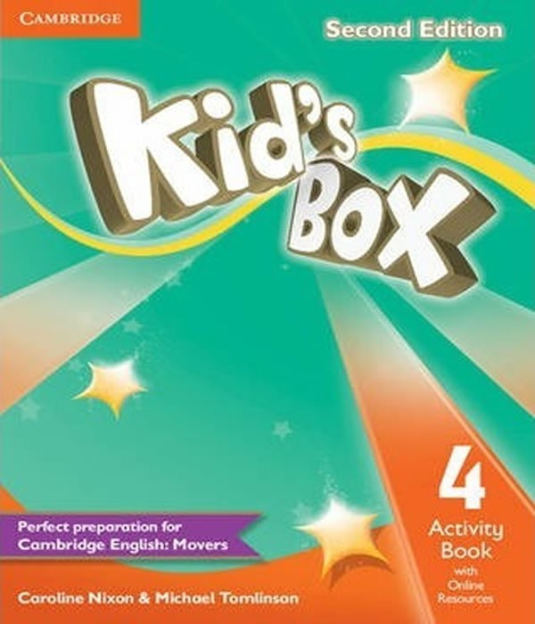 Kids BOX 4 - Activity Book WITH Online Resources - 02 ED