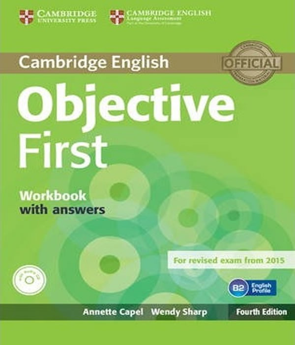 Objective FIRST - Workbook WITH ANSWERS AND Audio CD - 04 ED