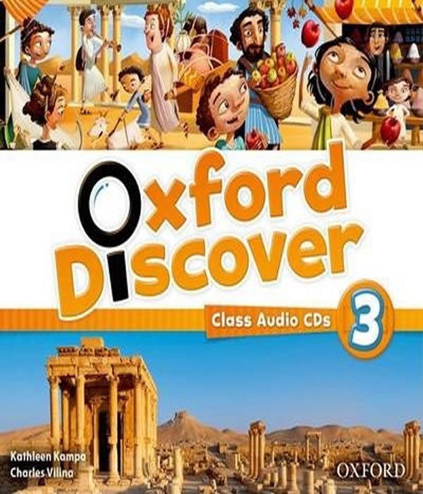 OXFORD Discover 3 - CLASS Audio CDS