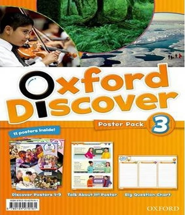 OXFORD Discover 3 - Poster PACK