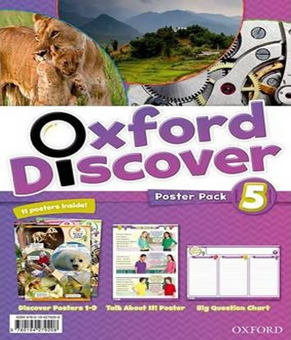 OXFORD Discover 5 - Poster PACK