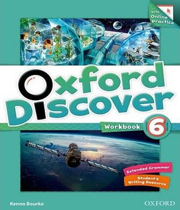 OXFORD Discover 6 - Workbook WITH Online Practice