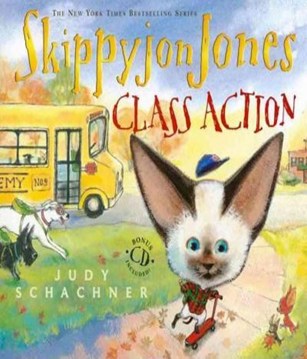 Skippyjon Jones - CLASS Action WITH Audio CD
