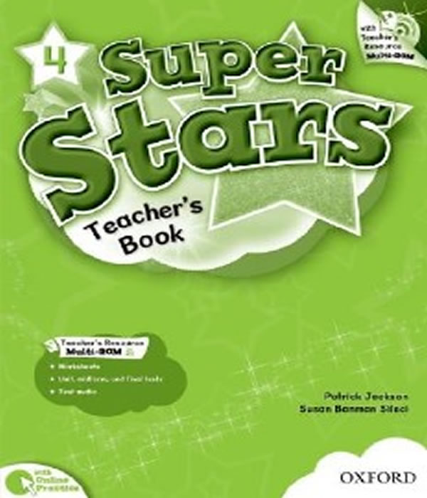 Super STARS 4 - Teacher´s Book PACK