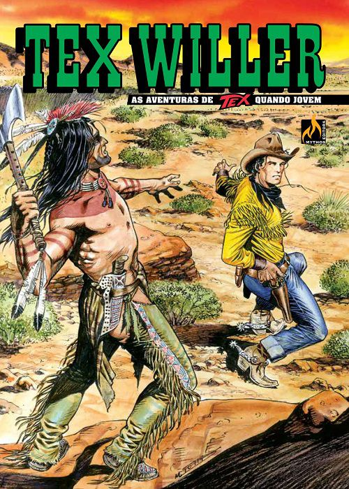 TEX WILLER Nº 06  Coyoteros