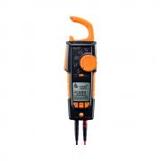Alicate Amperímetro Multímetro Testo 770-3 Com Detecção Sem Contato True RMS