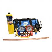 Kit básico para Refrigeração com Mala Reforçada Cata Vento 5 Itens