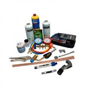 Kit de Ferramentas para refrigeração - Geladeira e Freezer 15 Itens