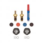 Kit de Substituição de Válvula Testo Para Manifolds Digitais - 0554 5570