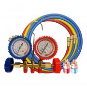 Kit Manifold R22 / R134 / R404 / R407 + Engate Alta + Engate Baixa