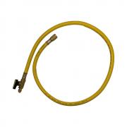 Mangueira com Registro Bola de 0,90 cm - Amarela