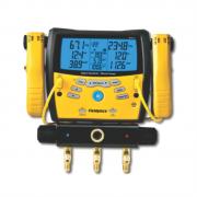 Manifold Digital 3 Vias Com Vacuômetro Sman360 Fieldpiece