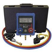 Manifold Digital com Vacuômetro Sub Resfriamento Super Aquecimento Sensor Temperatura - Mastercool