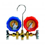 Manifold Gas R600 R290 Mangueira 90cm Suryha