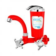 Purificador Ideale Eco Vermelho Cromado (8412A) - Planeta água
