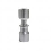 União Lokring para Tubo 6mm 1/4 Com 2mm Alumínio Capilar