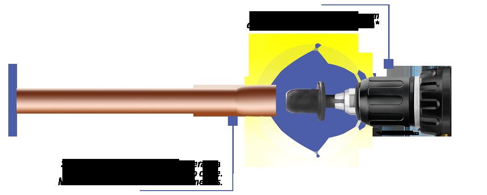Alargador SPIN SSPIN 5000 Kit