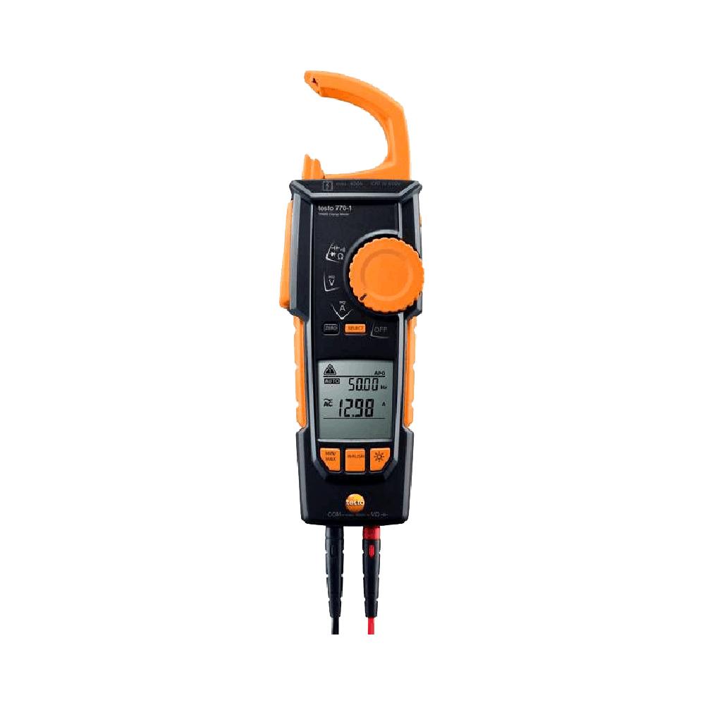 Alicate Amperimetro Multimetro Testo 770-1 Com Deteccao Sem Contato True RMS