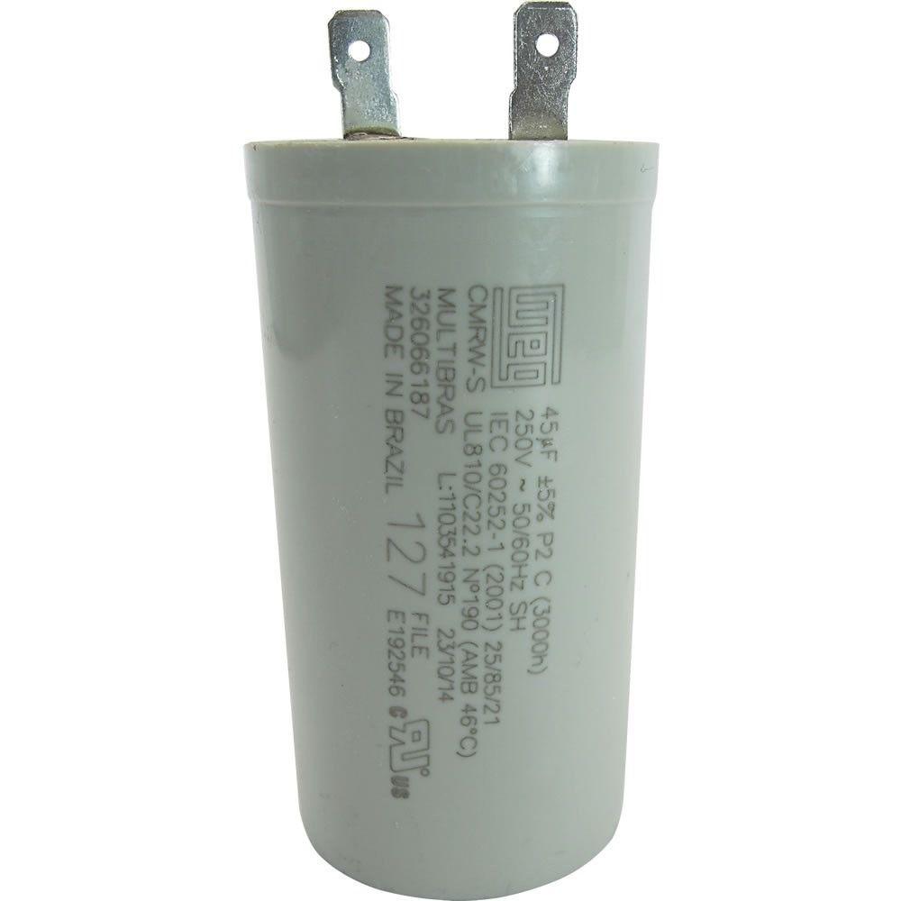 Capacitor 45 uf 127v - 250v  W10883000