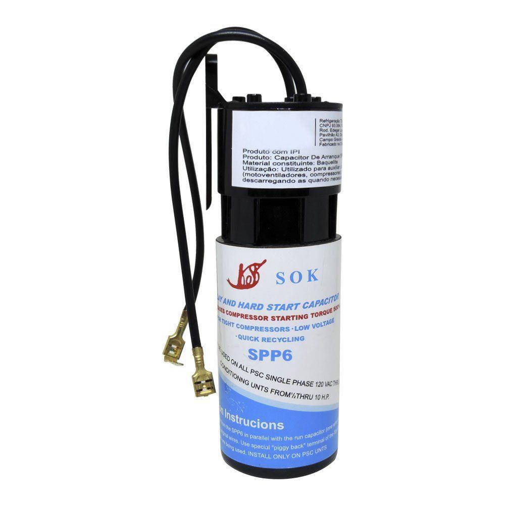 Capacitor de Arranque SPP6