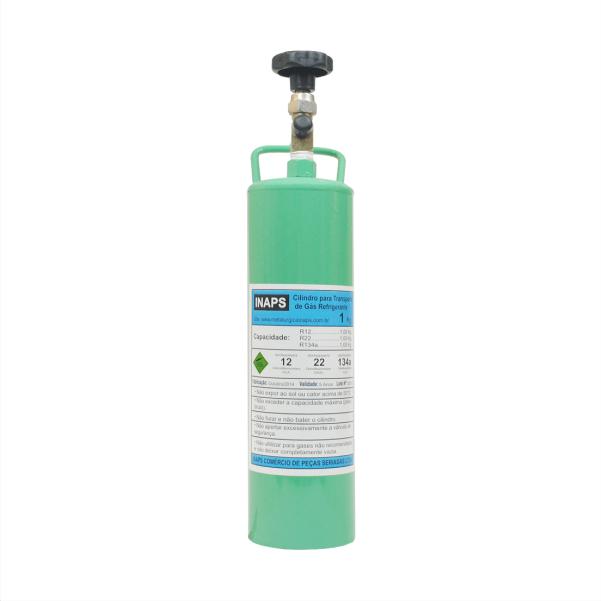Cilindro Para Transporte De Gás Refrigerante 1Kg - R22/R134a