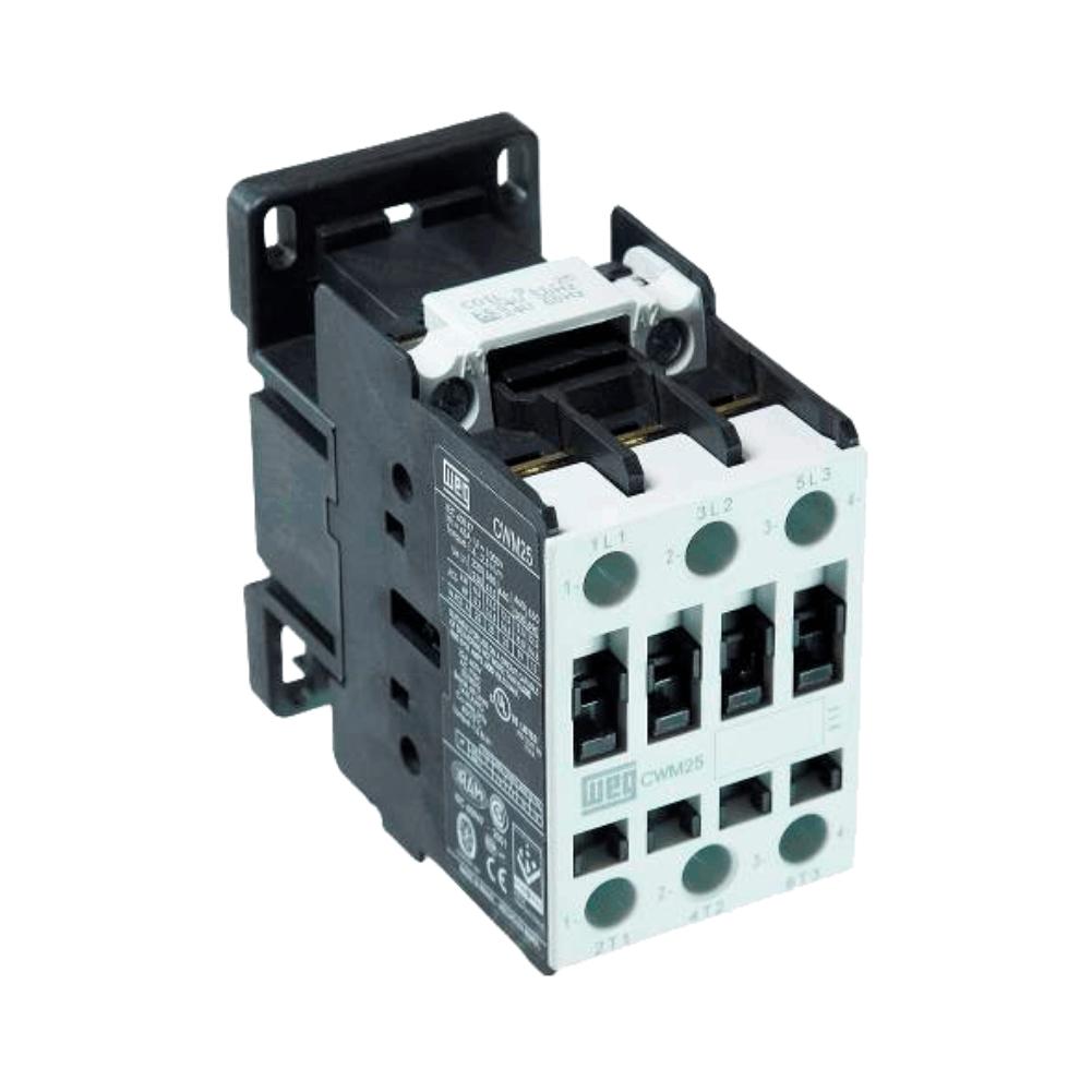 Contator Tripolar WEG CWM25 25A 24V - 42740634