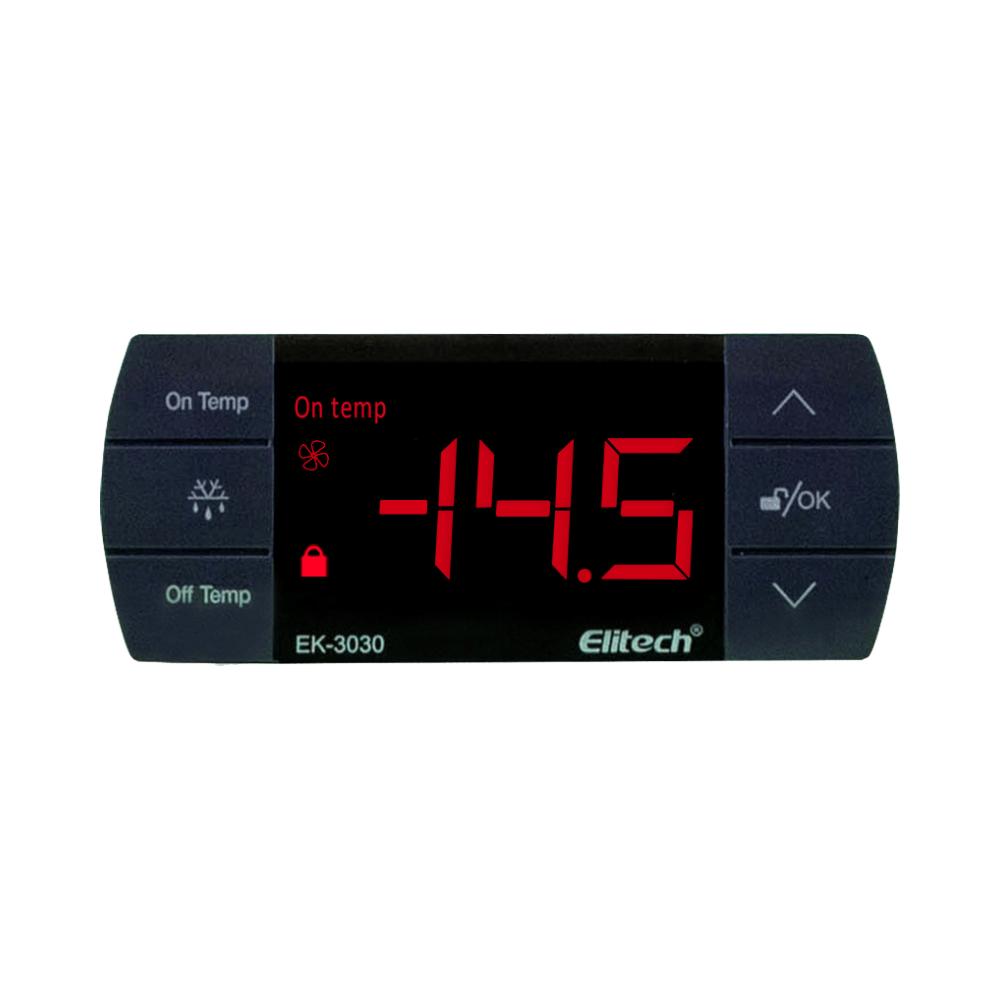 Controlador de Temperatura EK-3030 110v Com Sensor de 2m - Elitech