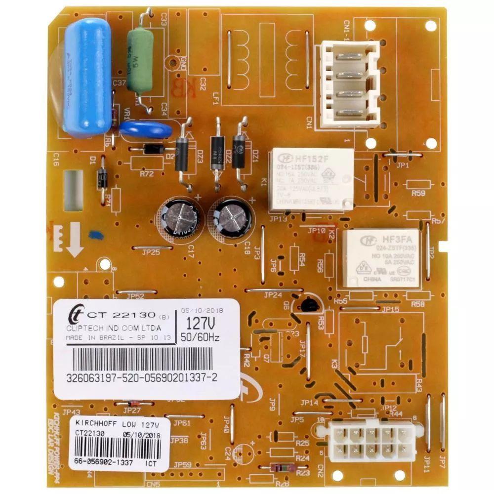 Placa de Controle Eletrônico Para Geladeira Consul e Brastemp 127v - 326059370