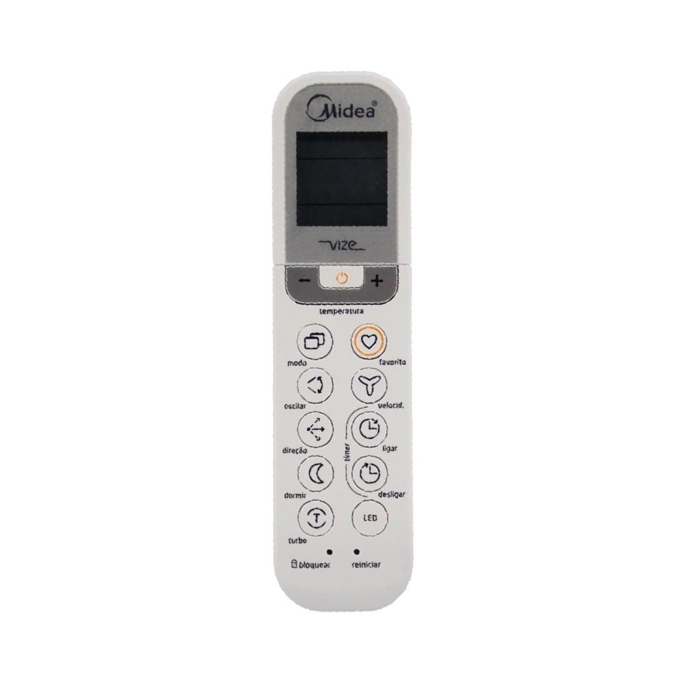 Controle Ar Condicionado Split Midea Liva 2033550B0217