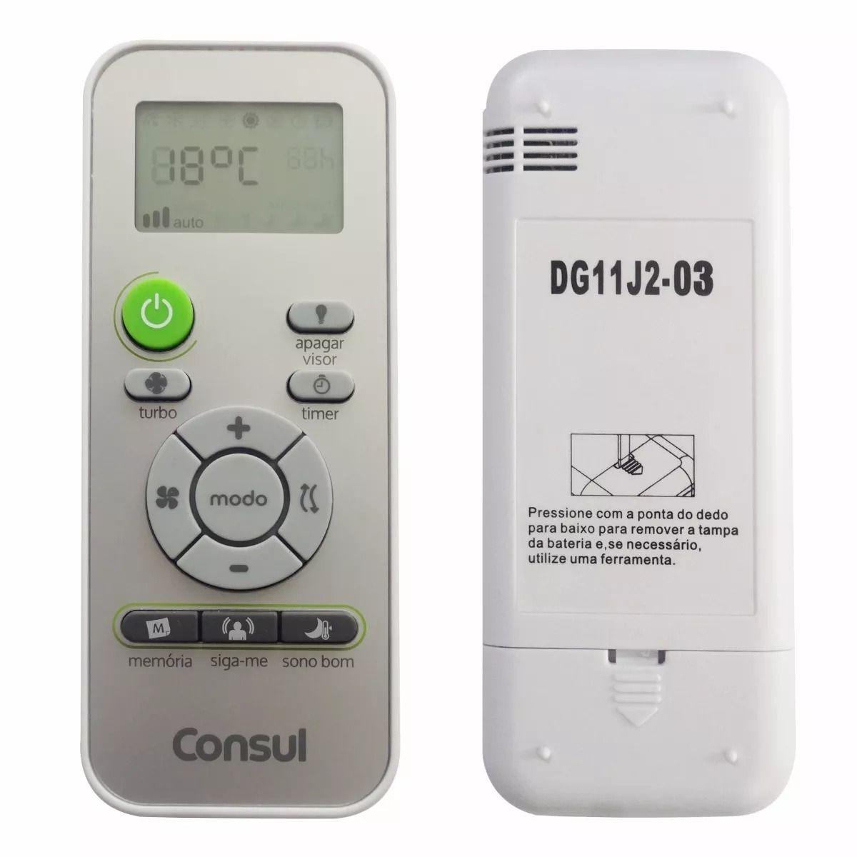 Controle Remoto Para Split Consul Bem Estar - W11415633