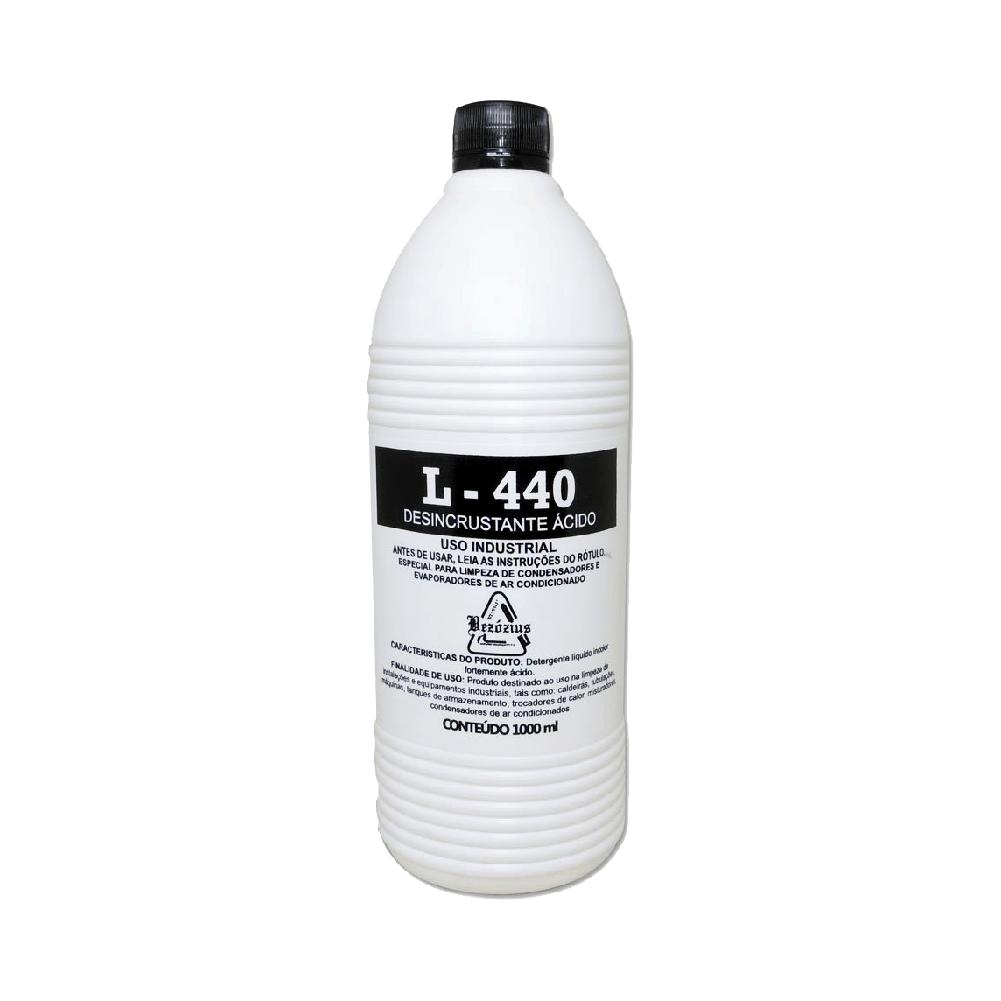 Detergente Desincrustante Ácido L440 1L Para Ar Condicionado - Bezózius