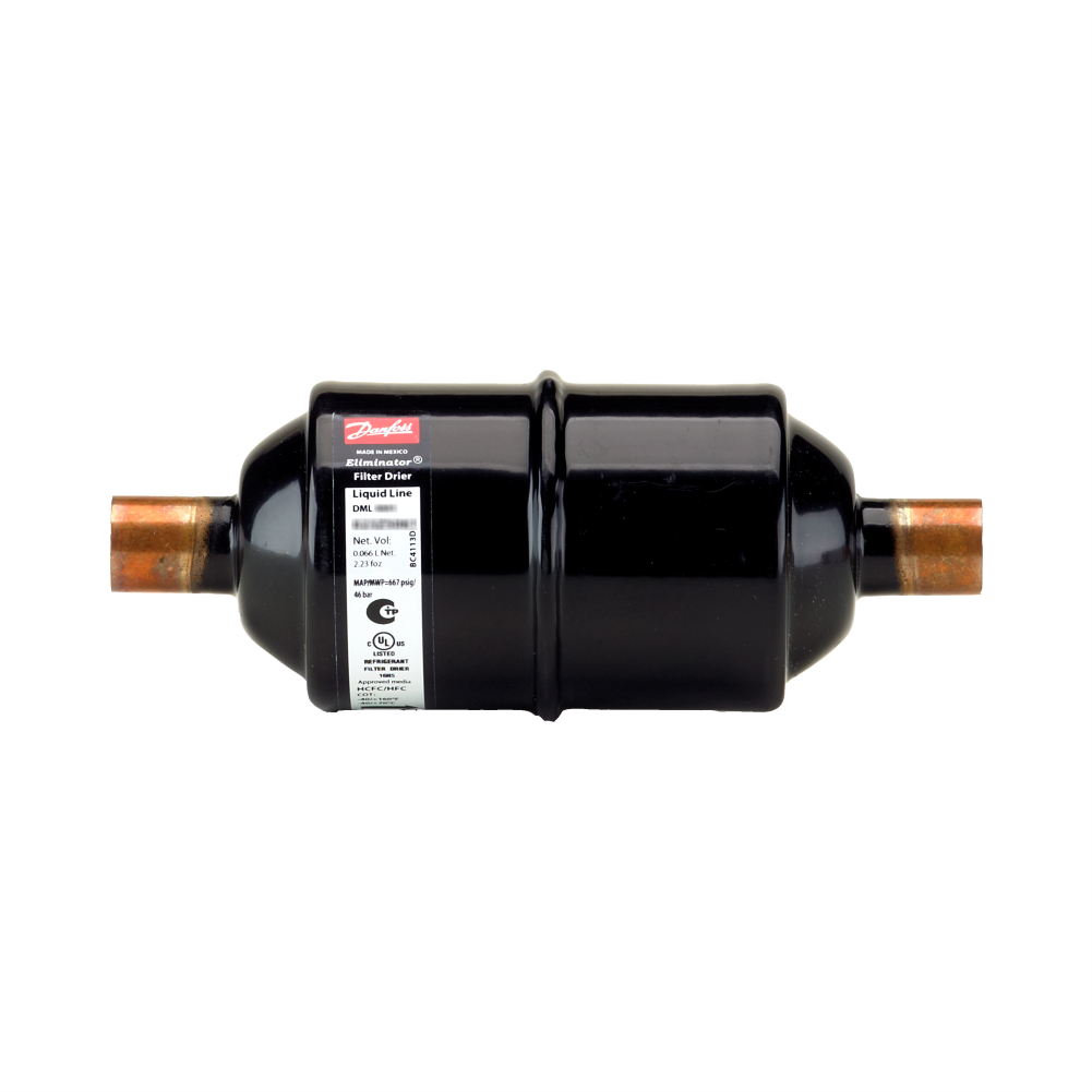 Filtro Secador Danfoss DML 033S 3/8S Solda - 023Z5050