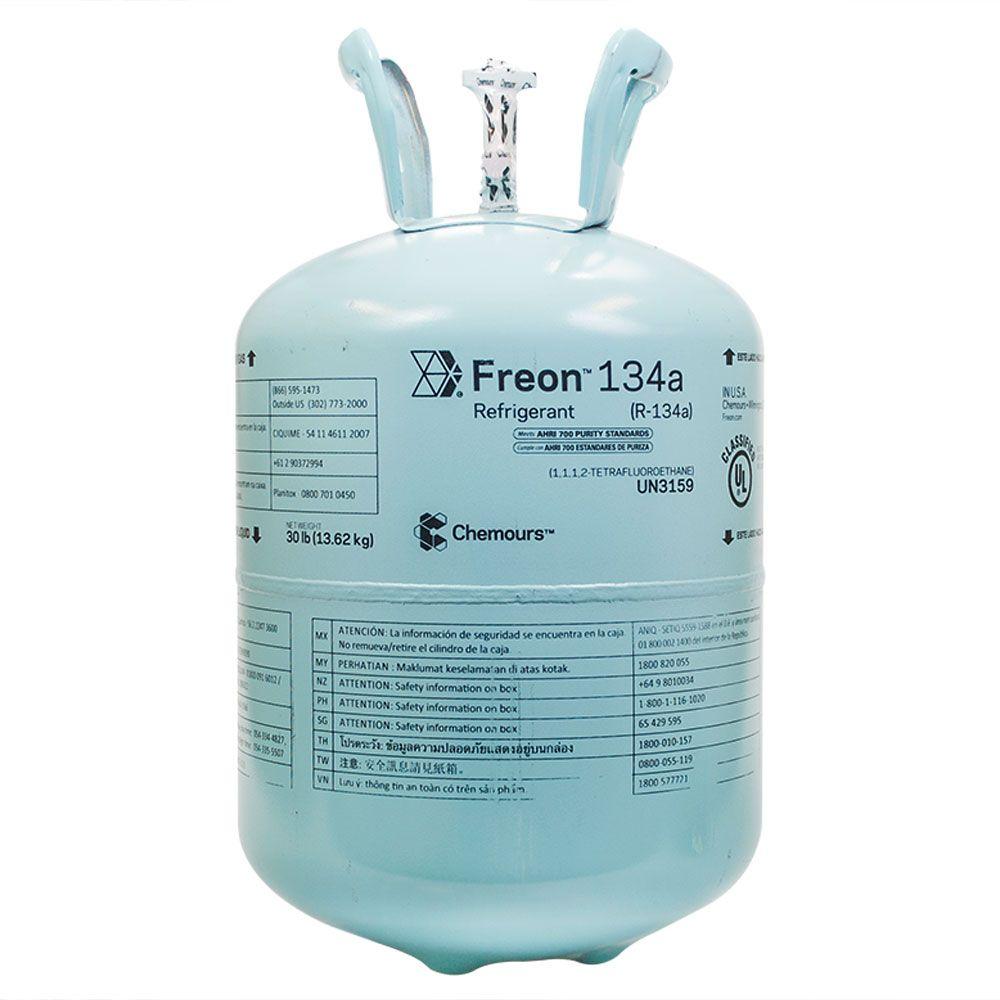Gás Refrigerante Freon R134a 13,62Kg - Chemours