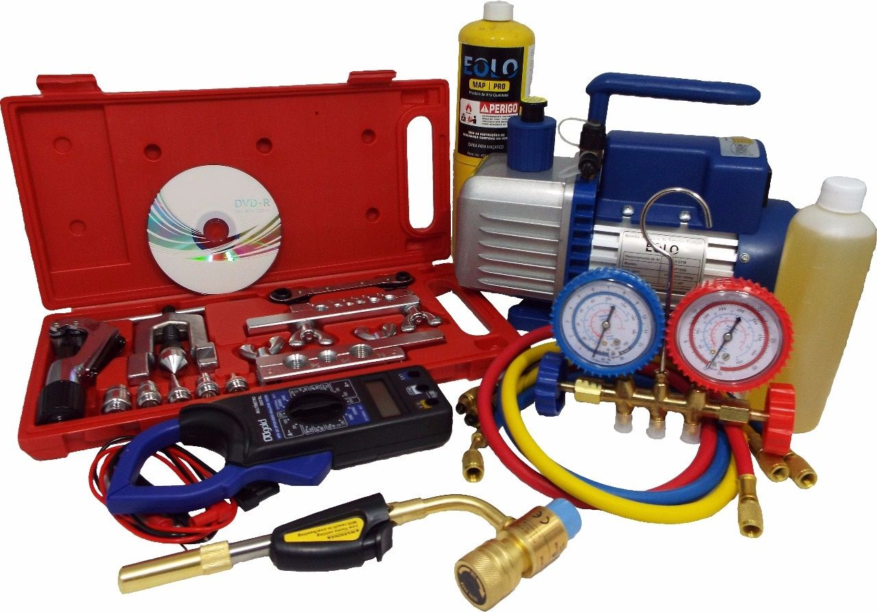 Kit para refrigeração e ar condicionado 02