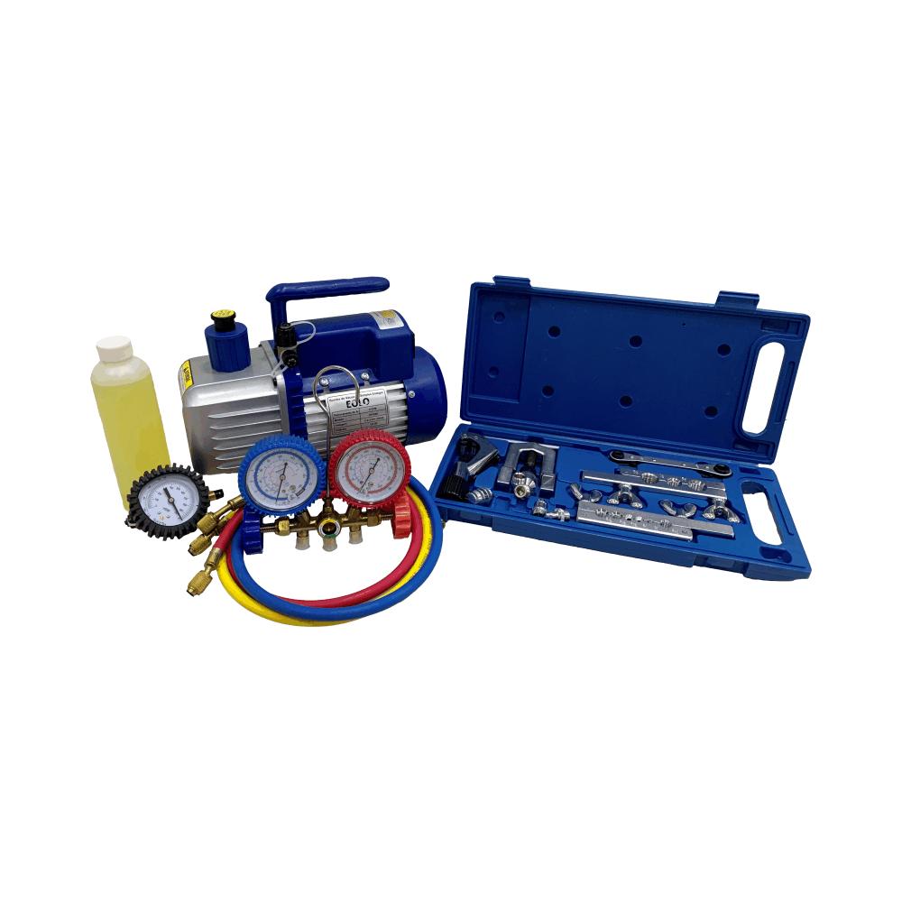 Kit Básico Refrigeração e Ar Condicionado com Vacuômetro
