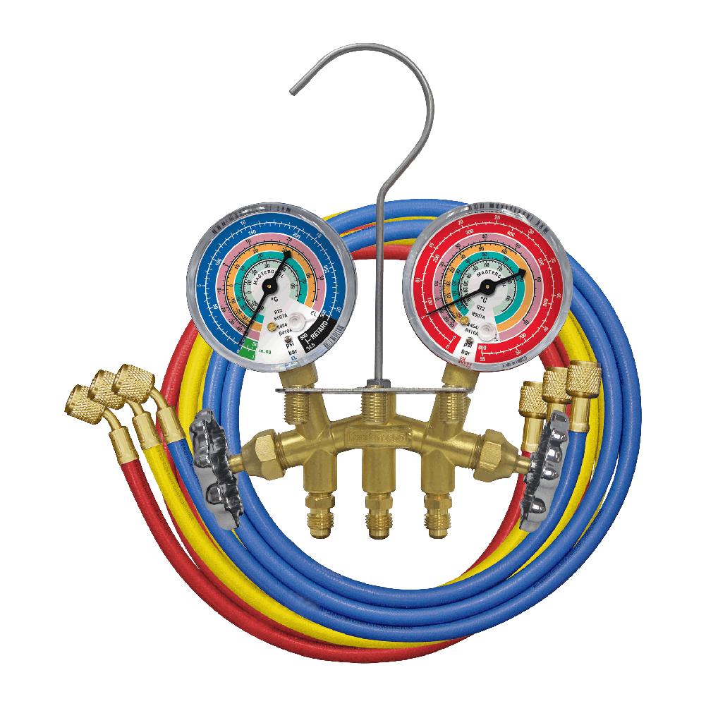 Manifold Analogico R22 R507a R404a R410a Mastercool 36661-E-JT