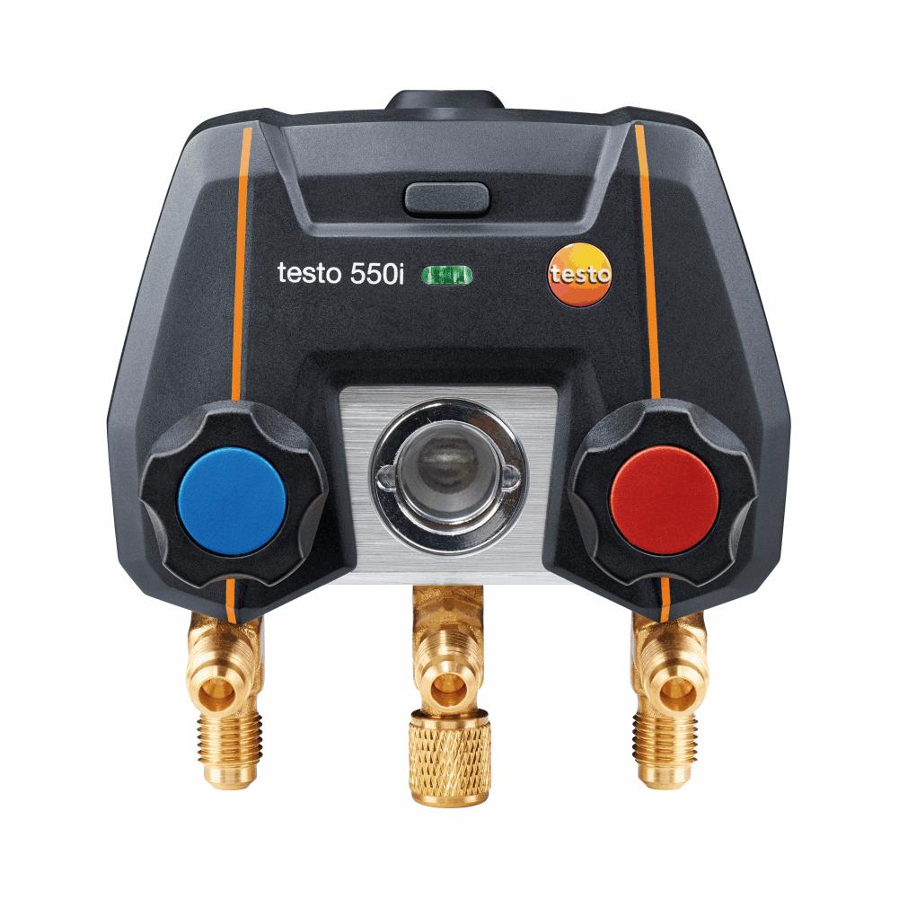 Manifold Digital Testo 550i Inteligente Controlado Por Aplicativo Bluetooth