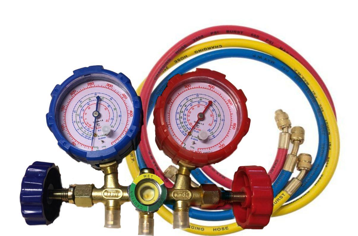 Manifold Todos Os Gases R22 - 134A - 404A - 410 + 2AD 87