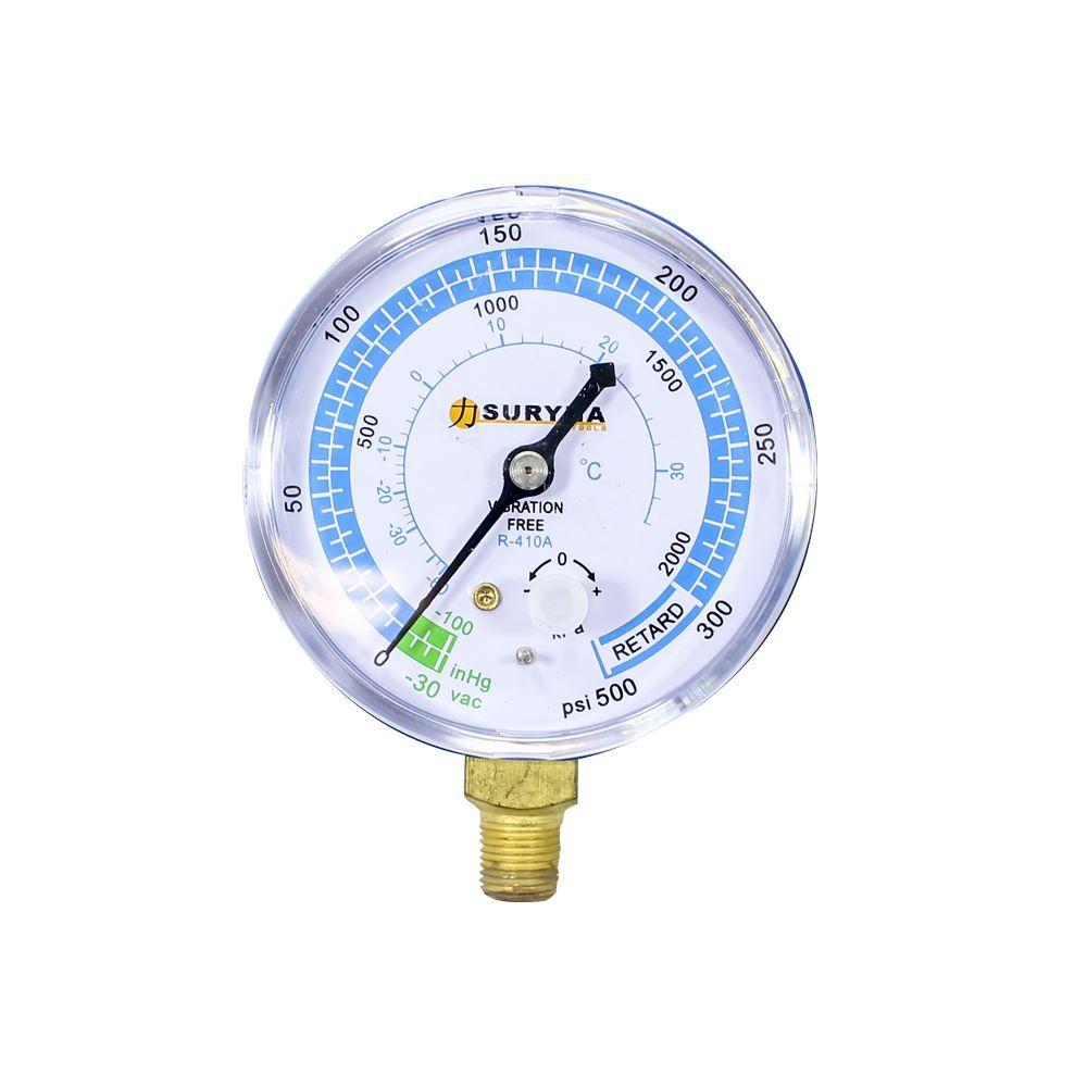 Manômetro Baixa R410 - Suryha