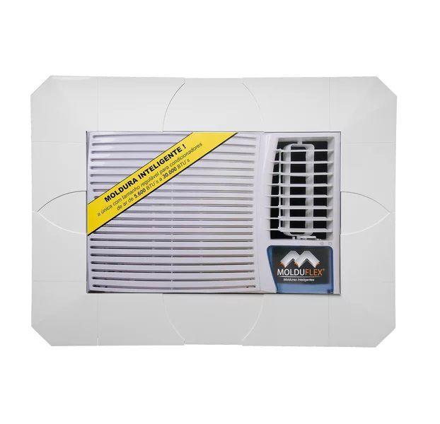 Moldura Para Ar Condicionado Regulável De 5600 A 30.000btus