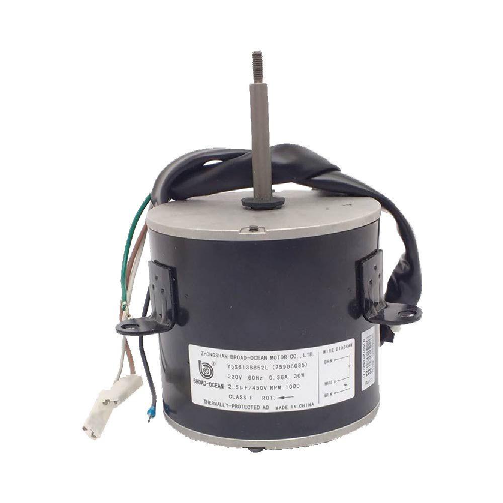 Motor Ventilador Para Condensadora Springer Midea e Carrier 7000 a 12000 BTU - 25906085