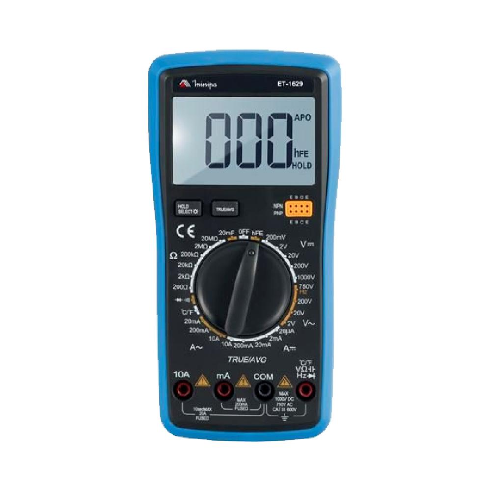 Multímetro Digital ET-1629 - Minipa