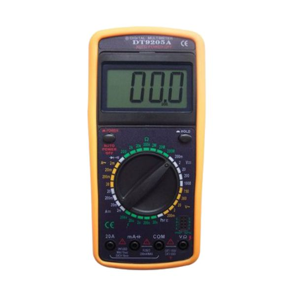Multimetro Digital Lcd Capacimetro Aviso Sonoro - 9205A