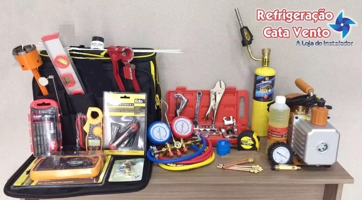 Kit de Refrigeração Para Ar Condicionado Completo 05