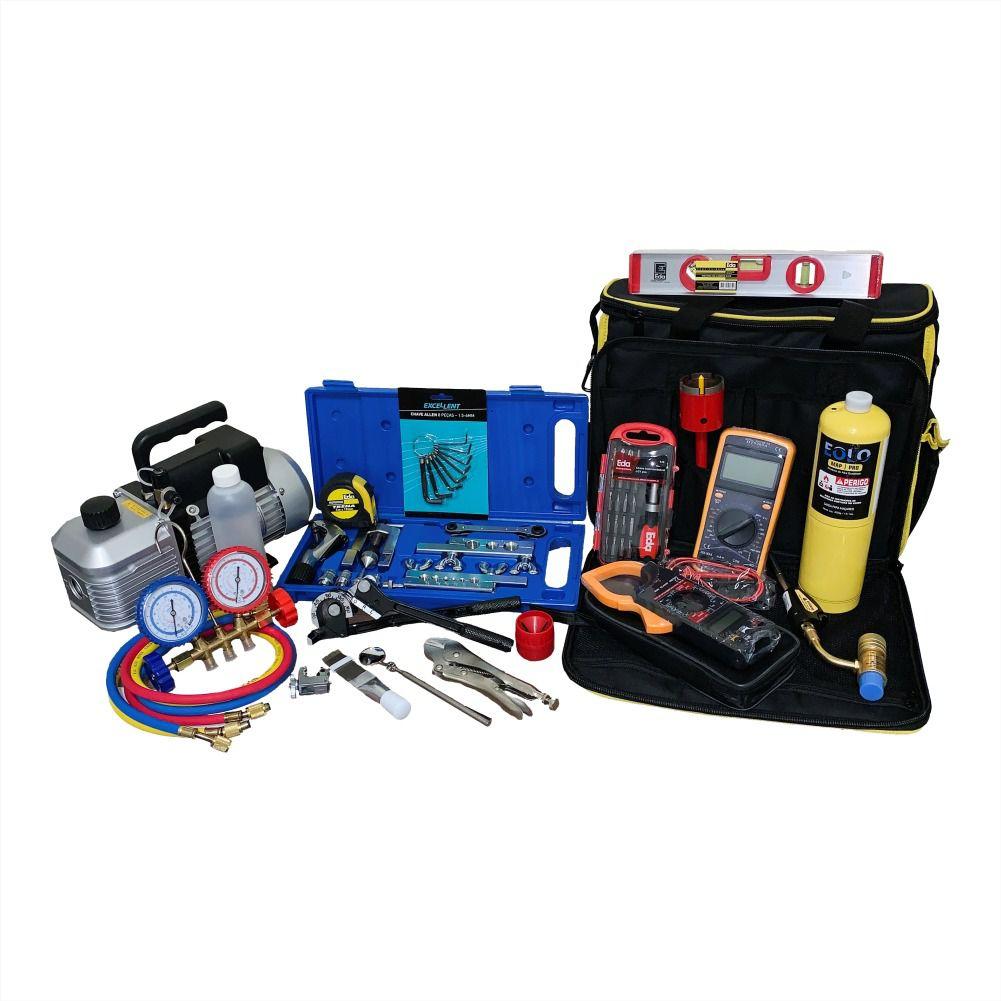 Kit Para Refrigeração Para Ar Condicionado Completo 07