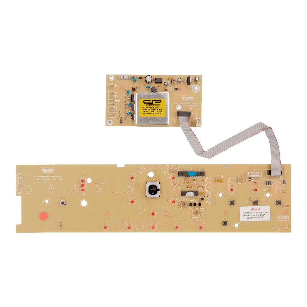 Placa Compatível Lavadora BWL09B V2 - Bivolt