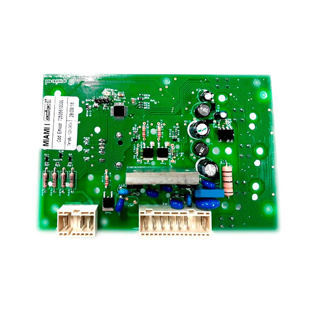 Placa De Interface Bivolt Lavadora Colormaq Lca12 Lca15 07200004